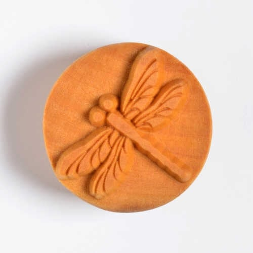 Scl-005 Large Round Stamp - Dragonfly