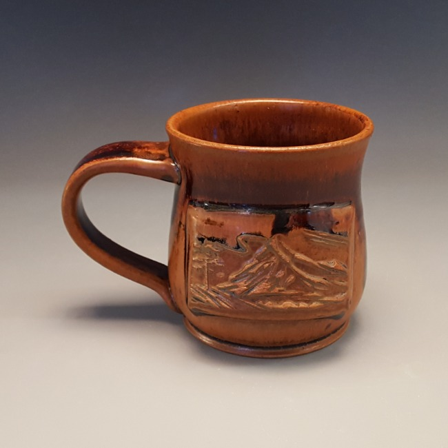 Angie Bougie's mug textured with HR-047