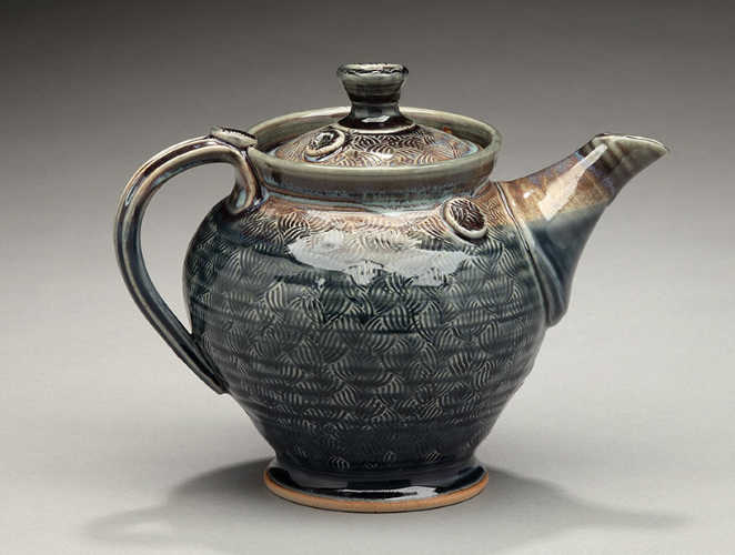 Nancy Zoller's Tea pot rolled with HR-007.
