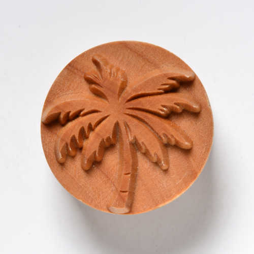 Palm Tree Pottery Stamp
