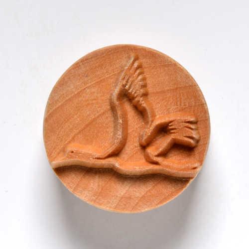 Flying Bird Pottery Stamp