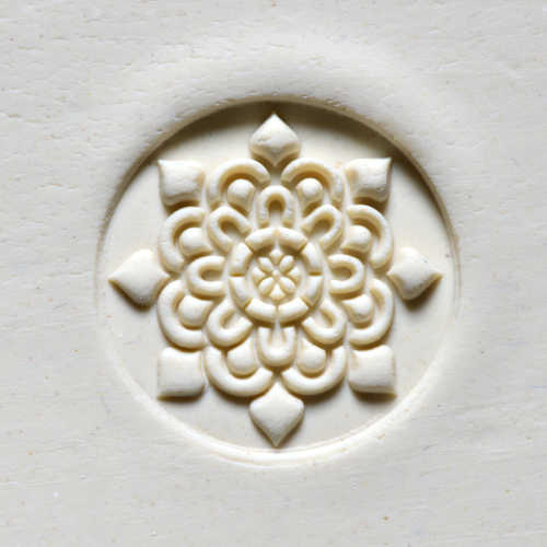 Doily Stamp for clay