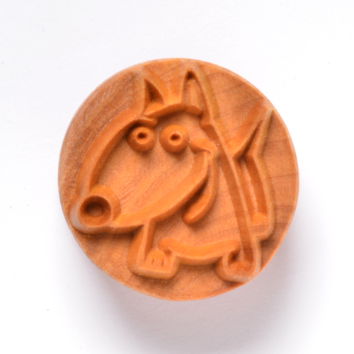 Cartoon Dog Pottery Stamp