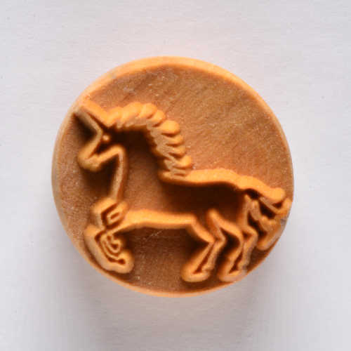 Unicorn Stamp for clay