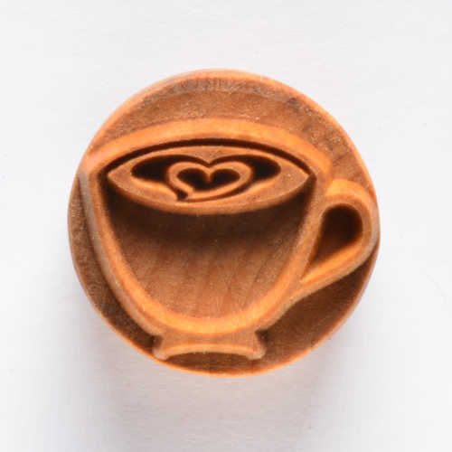 Latte Art Pottery Stamp