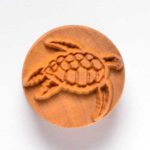 Turtle stamp for clay