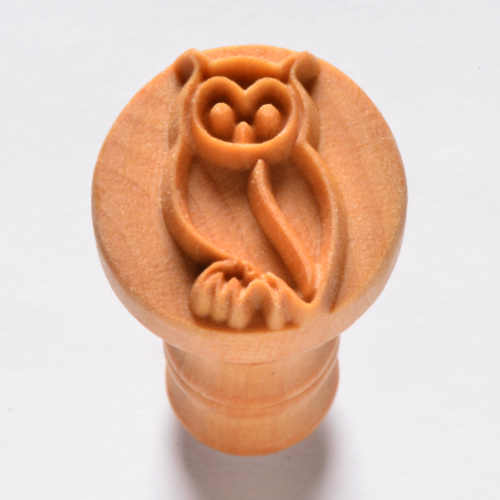 Owl Pottery Stamp