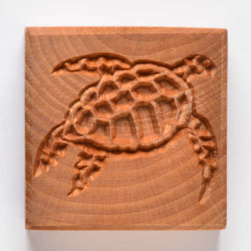 Sea Turtle Clay Stamp