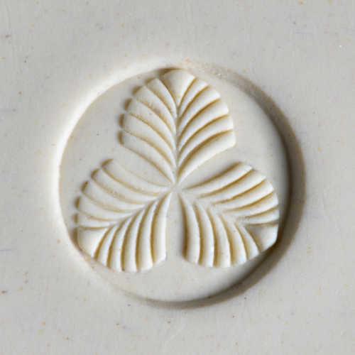 Tri-Leaf Pottery Stamp