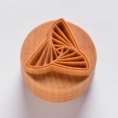 Origami Pottery Stamp