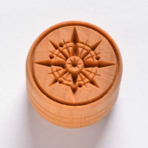 Compass Pottery Stamp