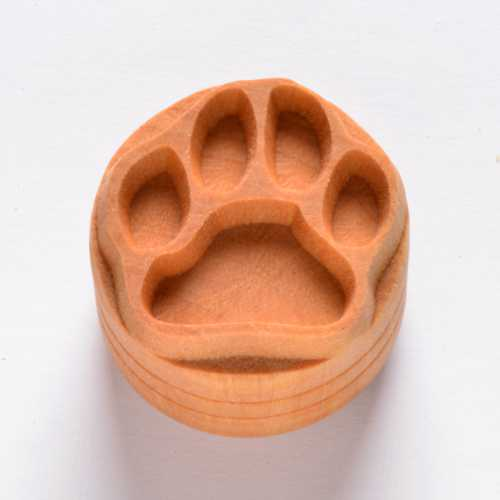 Dog Paw Pottery Stamp
