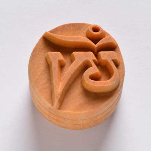 Tibetan Om Pottery Stamp