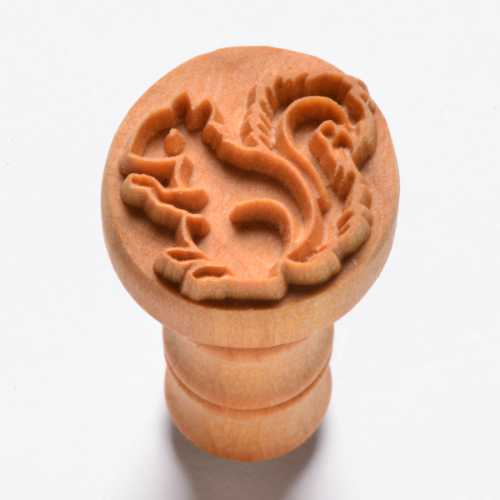Squirrel Pottery Stamp