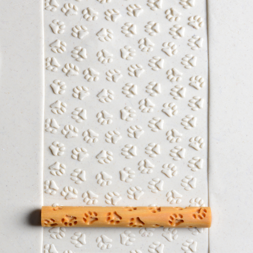 Paw Prints Texture Roller